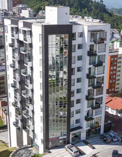 Edificio Matizz - 2012 - Proyecto mixto de vivienda y locales comerciales.